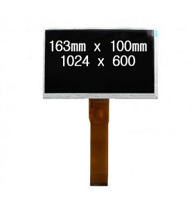 LCD per Tablet 7 Pollici KR070PE9T 163mm x 100mm ris. 1024 x 600 50PIN