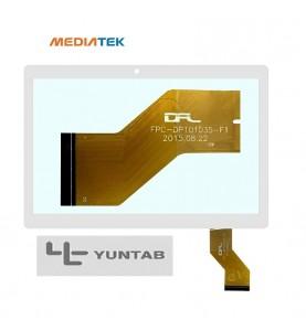 VETRO TOUCH SCREEN MEDIATEK Yuntab cod flat MTCTP-10617 FPC- cod fpc-dp-101035-f1 CAMERA LATERALE