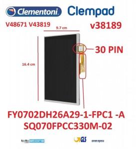 R03 LCD CLEMPAD V48671 V43819 V38189 16602 16604 MIO PRIMO 7 2017