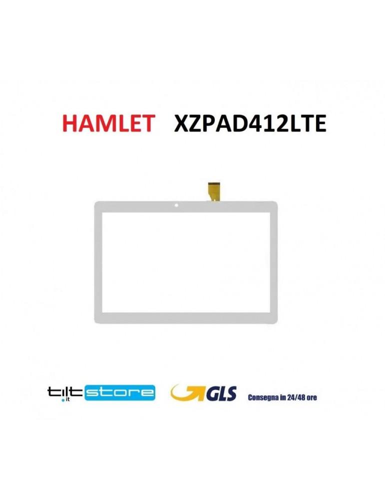 VETRO TOUCH SCREEN HAMLET XZPAD412LTE BIANCO