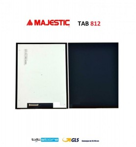 DISPLAY LCD MAJESTIC TAB 812 PCB K101-A2M40l-FPC-A K101-B2YL40L-FPC-K2