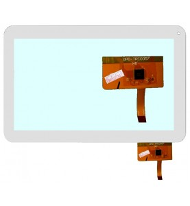 VETRO TOUCH SCREEN Mediacom Globex Assistant GoClever Kitech Perseus  MF-187-101F Bianco