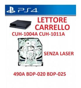 LETTORE CARRELLO PS4 CUH-1004A CUH-1011A BDP-010 BDP-015 KEM-860A PS4 SENZA LASER
