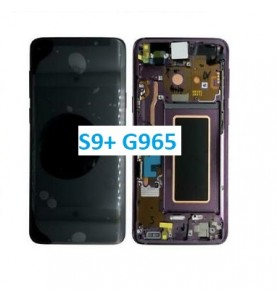 DISPLAY TOUCH LCD SAMSUNG S9 PLUS SILVER S9+ SM-G965F ORIGINALE SERVICE PACK
