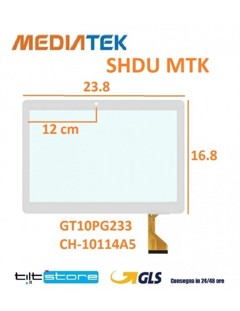 DISPLAY LCD TOUCH VETRO Nero Huawei P Smart 2019