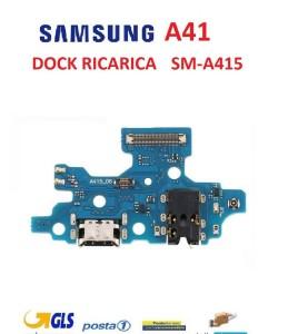 CONNETTORE RICARICA SAMSUNG A41 SM-A415 CON MICROFONO