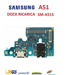 CONNETTORE RICARICA SAMSUNG A51 SM-A515 CON MICROFONO