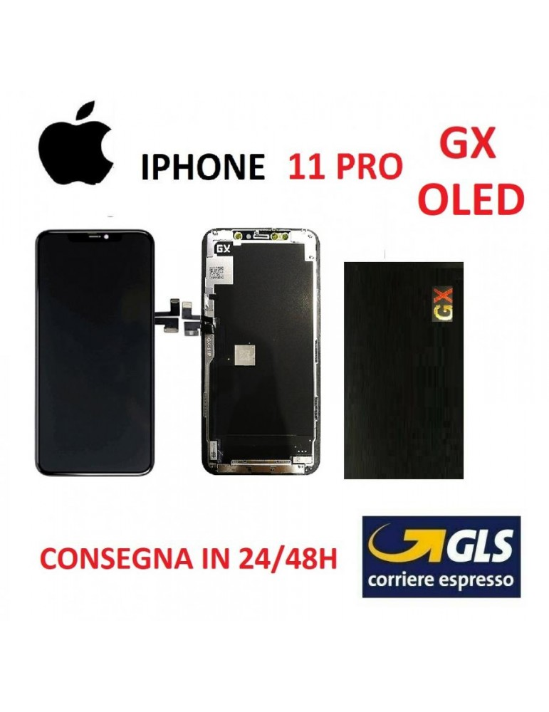 DISPLAY LCD IPHONE 11 PRO GX VETRO TOUCH SCREEN