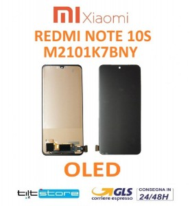 DISPLAY LCD XIAOMI REDMI NOTE 10S M2101K7BNY TOUCH VETRO OLED