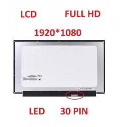 DISPLAY LCD 30 PIN 15.6 SLIM FULL HD 1920X1080 N156HCA-EAA NO BRACKET NOTEBOOK