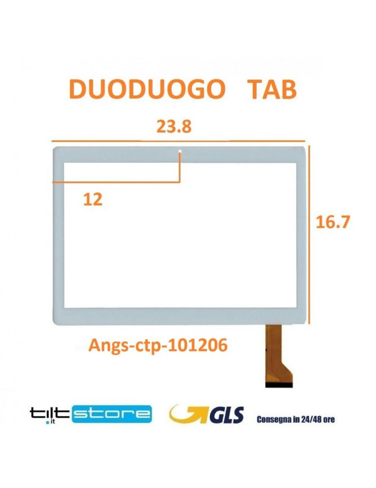 Back Cover Bianco iPad Mini 1 Wifi A1432 A1454