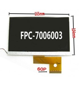 R19 LCD 7 SQ070FPCB160R-01Extreme 7 Modello 49687 samtech 7alcatel  onetouch 7