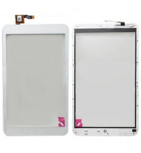 Touch Bianco Alcatel One Touch POP 8 P320 con Frame