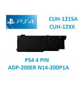 Alimentatore interno PS4 ADP-200ER N14-200P1A 4 PIN SONY SERIE CUH-10xx CUH-11xx CUH-12xx