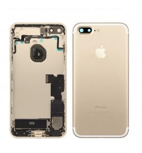 Back Cover Scocca Posteriore iPhone 7 Plus Completa di componenti Gold
