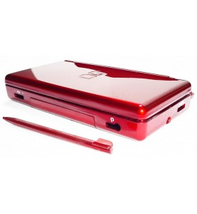 Case Completo Nintendo Ds Lite Rosso/Bordau