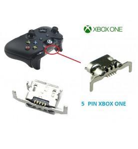 CONNETTORE DI RICARICA MICRO USB JOYSTICK XBOX ONE TIPO 2 5 PIN