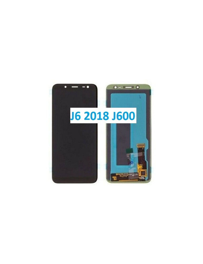 DISPLAY TOUCH LCD SAMSUNG J6 2018 J600 NERO GH97-21931A GH97-22048A ORIGINALE SERVICE PACK