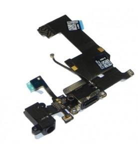 Flat Dock Ricarica Microfono Jack Audio Antenna iPhone 5 Nero