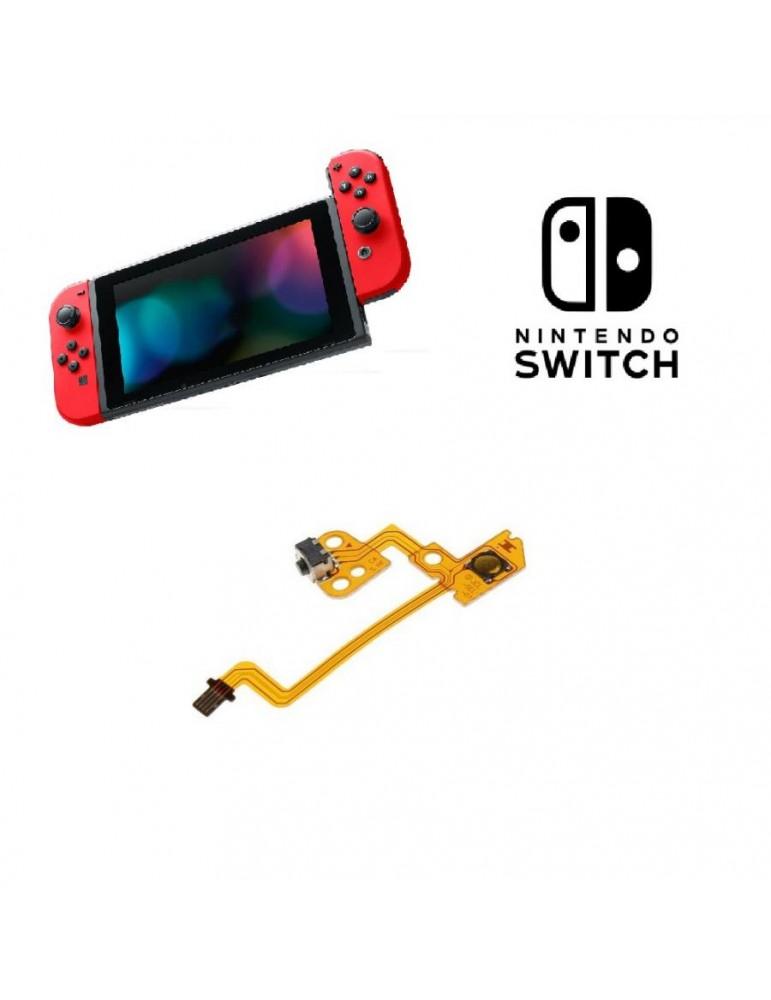 Flat Tasto Pulsante Sinistro L per  Nintendo Switch Joycon