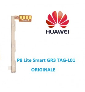 Flat Volume Power Huawei P8 Lite Smart GR3 TAG-L01 ORIGINALE