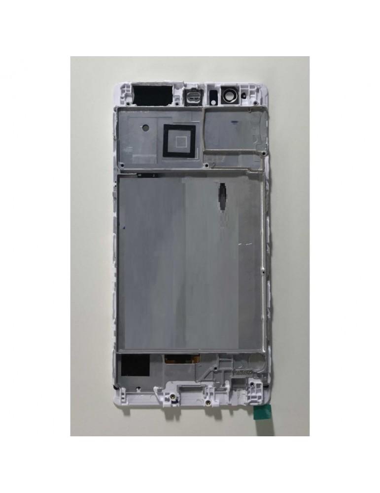 Frame LCD centrale Bianco Huawei P9 Plus VIE-L09
