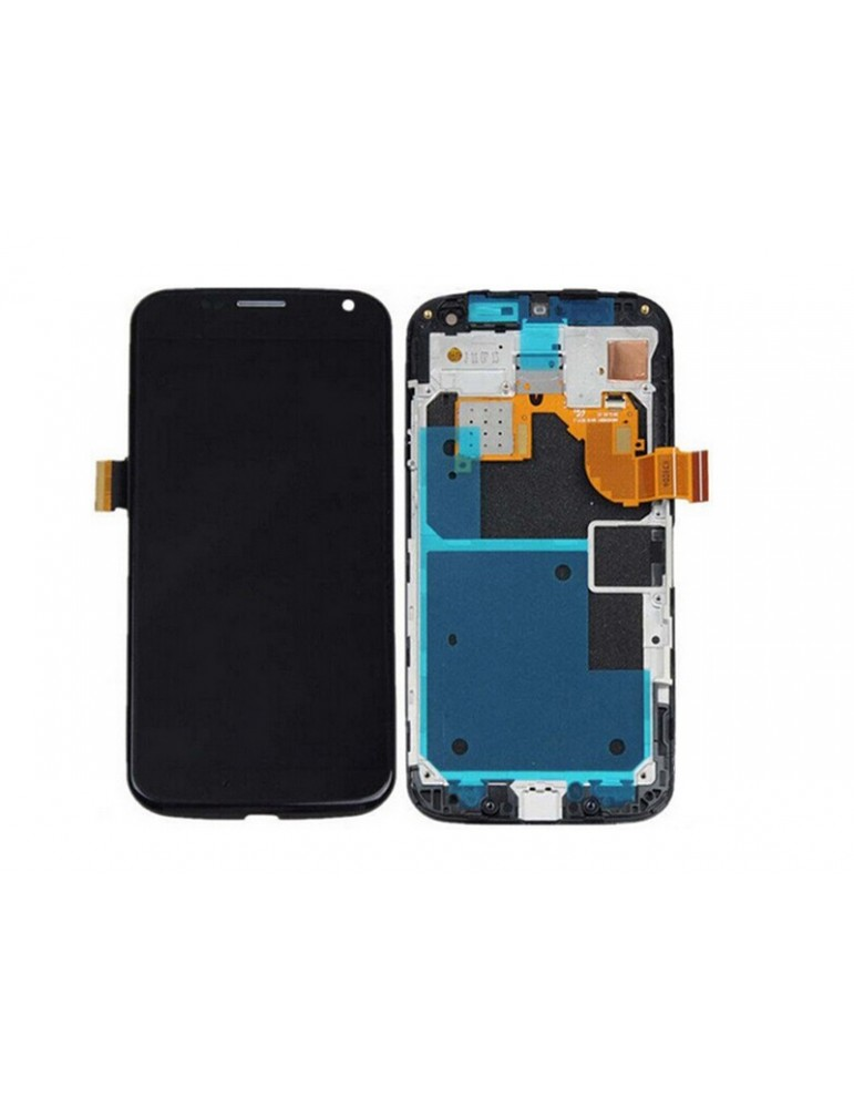 LCD TOUCH SCREEN DISPLAY MOTOROLA MOTO X XT1056 XT1058 XT1060 CON FRAME NERO