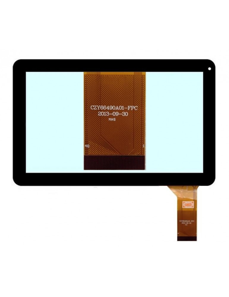 Touch Vetro 10.1 Polaroid PMID1000B Pearl MIDC410 CZY66490A01-FPC Nero