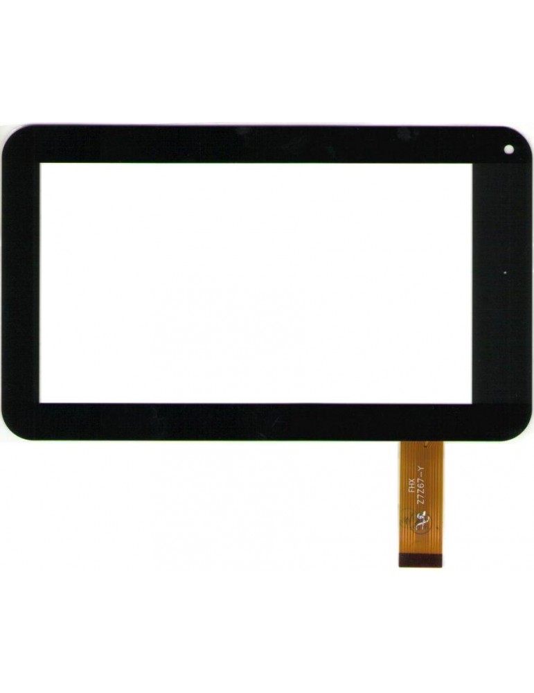Touch Vetro Goclever tab r70 Flat: DH-0705A1-FPC05 TOPSUN C008 Nero