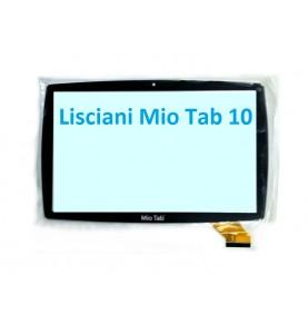 Touch Vetro Lisciani Mio Tab 10 FHF10078 MP0101065/101066 Nero