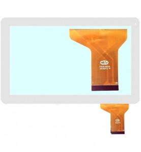 Touch Vetro MAJESTIC Kitech Xtreme Mediacom Polaroid Go Clever Master Inn active Technikware.at FM101301KA Bianco