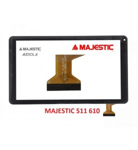Touch Vetro Majestic Tab 511 Majestic Tab 610 4G HSCTP-789B-10.1 V0 10 Pollici Nero