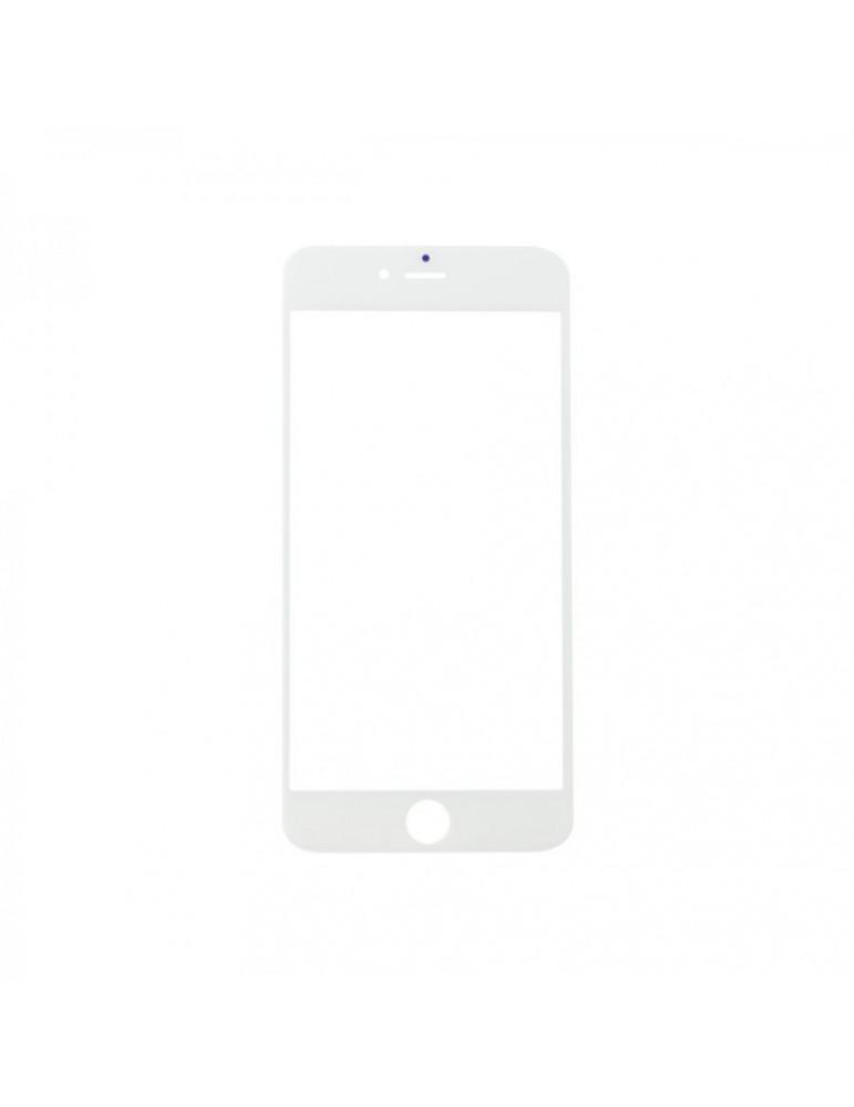 Vetro iPhone 6 plus Bianco completo di  Adesivo oca