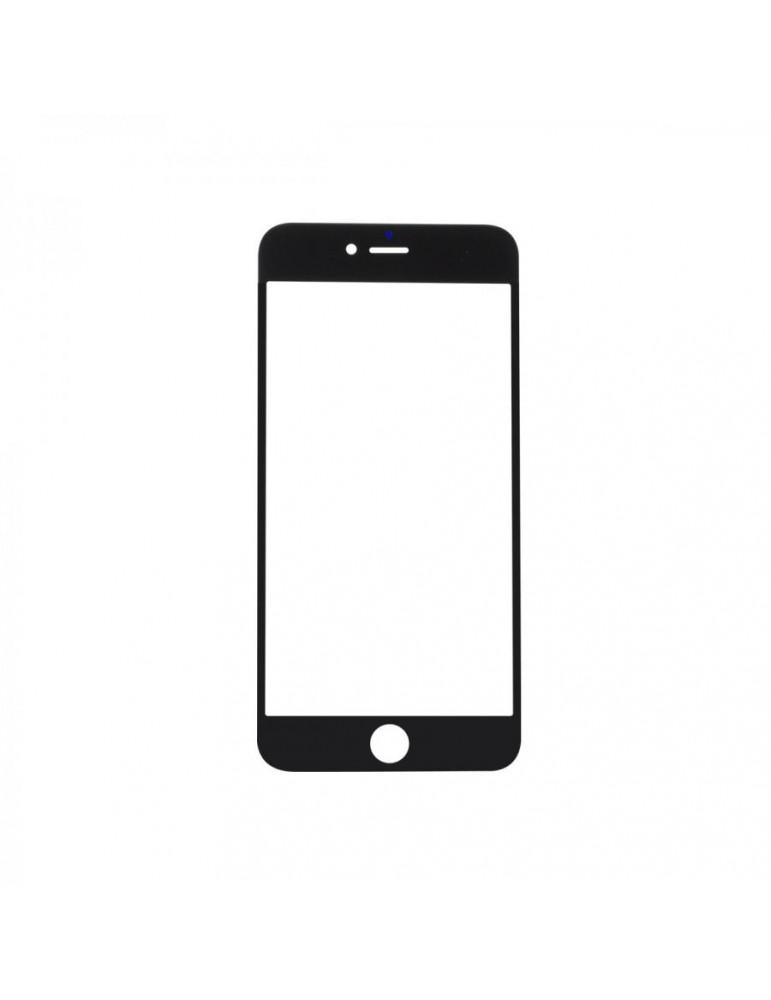 Vetro iPhone 6 plus Nero completo di Adesivo Oca