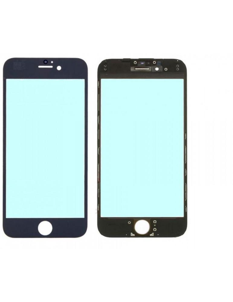 Vetro Nero iPhone 6s con Cornice e Adesivo Oca