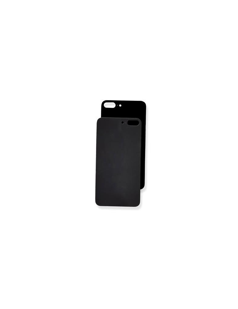Vetro Posteriore iPhone 8 Plus Copribatteria Nero Completo Di Biadesivo