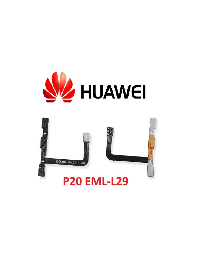 Flat Volume Power Huawei P20 EML-L29