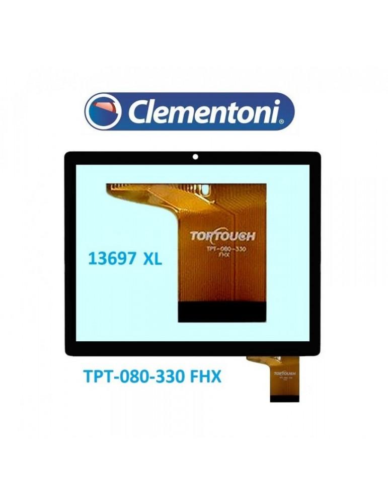 Touch Vetro Clementoni ClemPad XL 2014 13697 TPT-080-330 FHX 8 Pollici Nero