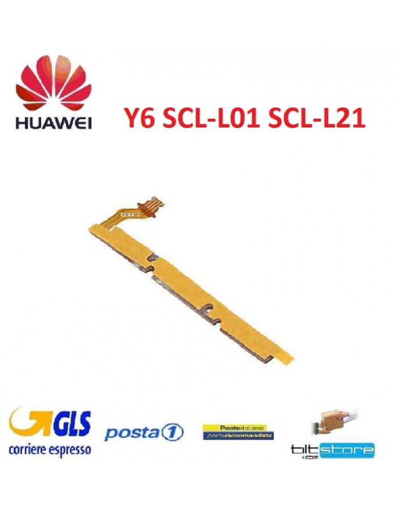 Flat Volume Power Huawei Y6 SCL-L01 SCL-L21