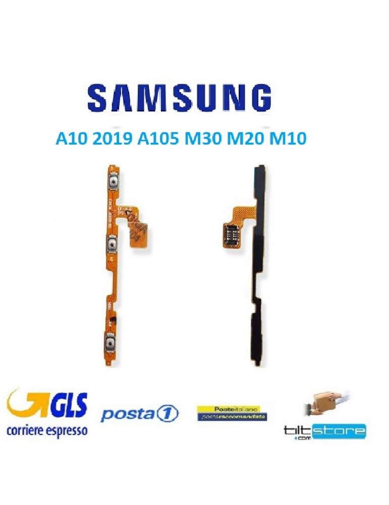 FLAT VOLUME POWER SAMSUNG A10 2019 A105 M30 M20 M10 ORIGINALE