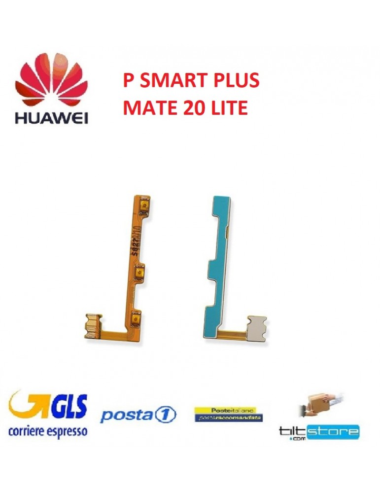 Flat Volume Power Huawei P SMART PLUS MATE 20 LITE