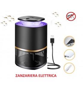 Zanzariera elettrica Aspirazione Anti Zanzare da Interno e Esterno USB