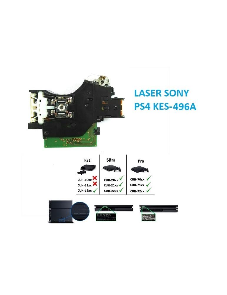 LASER 496A PS4 KES-496A SONY CUH-1116A CUH-2116B CUH-2016A PS4 SLIM PS4 PRO 496A