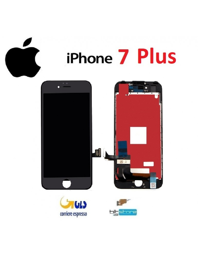 DISPLAY LCD iPhone 7 Plus Nero