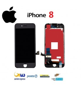 DISPLAY LCD iPhone 8 Nero