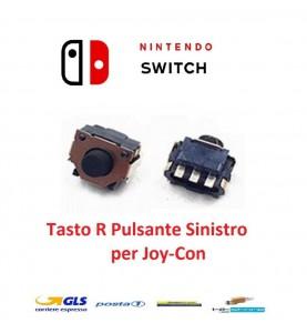 Flat Tasto Pulsante Sinistro R per  Nintendo Switch Joycon