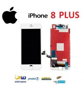 DISPLAY LCD iPhone 8 Plus Bianco