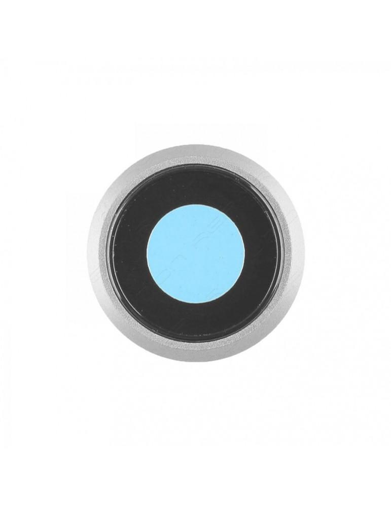 Anello Vetrino Fotocamera iPhone 8 Bianco