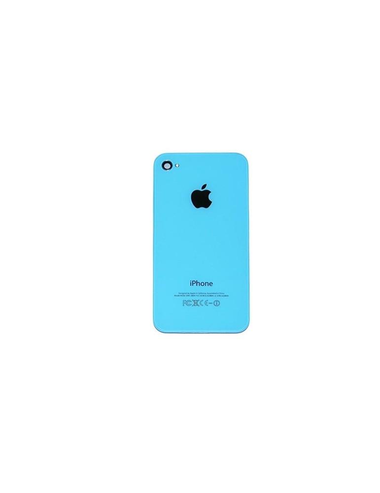 Back Cover Copribatteria iPhone 4 Celeste