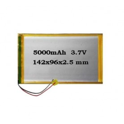 Batteria di Ricambio Tablet 3.7v 5000Mah Size:142*108*2.5mm